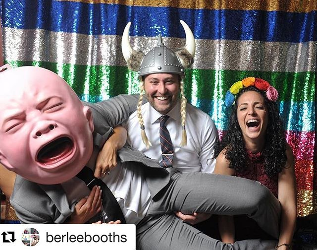 Happy Friday!! This is definitely my favorite picture from the photobooth at our wedding! A big shoutout to @berleebooths and the amazing job they did! Anyone looking for a fun activity at their wedding definitely give Berlee Booths a call! #photobooth #bigbaby #pittsburghwedding #weddingshananigans #photoboothfun