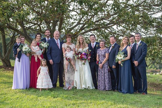 Today I am thankful for every one of these people. My rocks, loves, friends, family, everything I am is because of them. I am thankful today and every day that I get to spend my life with this group. I hope everyone has a great thanksgiving! 🦃🍁📷@amberleechristeyphotography