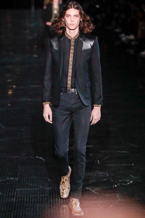 Vogue Runway: Saint Laurent Spring/Summer 2019 Menswear