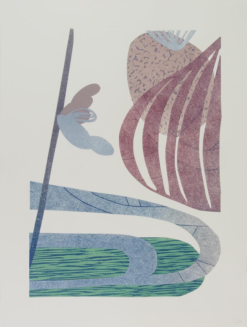 Akibare III, 36.5 x 28cm