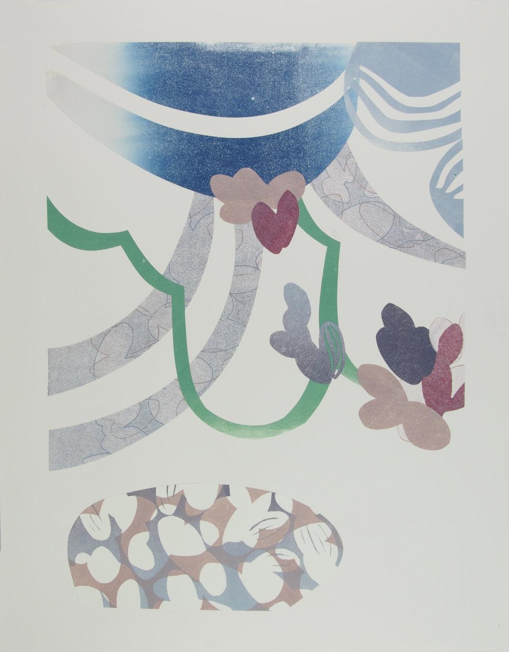 Akibare II, 49 x 36.5cm