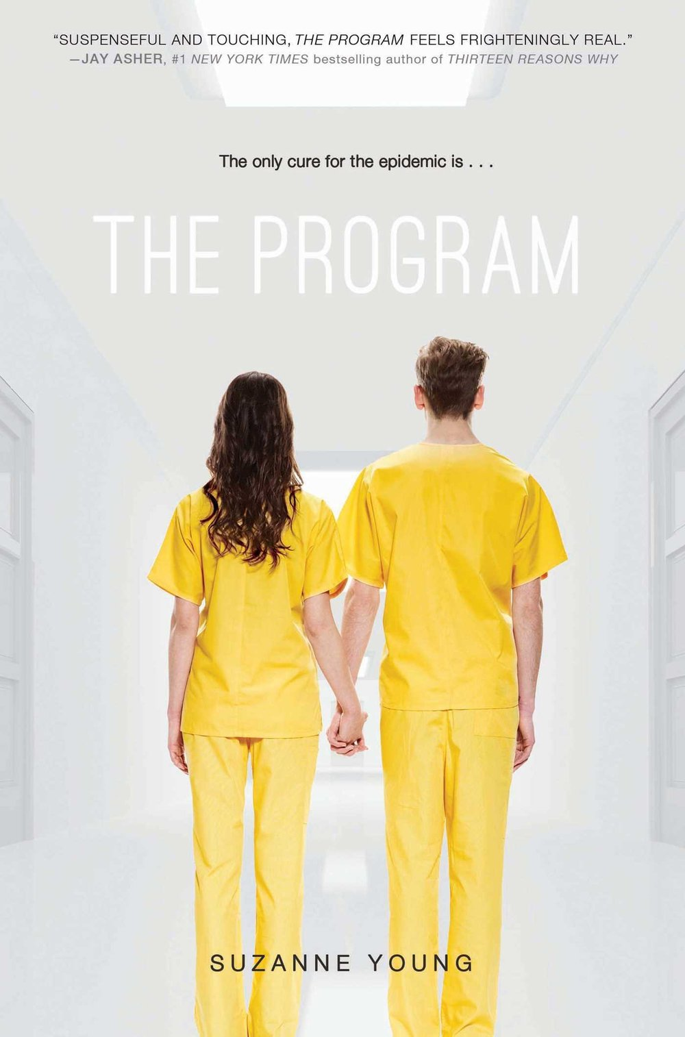 "In this ""gripping tale for lovers of dystopian romance"" ( Kirkus Reviews ), true feelings are forbidden, teen suicide is an epidemic, and the only solution is The Program.  Sloane knows better than to cry in front of anyone. With suicide now an international epidemic, one outburst could land her in The Program, the only proven course of treatment. Sloane's parents have already lost one child; Sloane knows they'll do anything to keep her alive. She also knows that everyone who's been through The Program returns as a blank slate. Because their depression is gone—but so are their memories.  Under constant surveillance at home and at school, Sloane puts on a brave face and keeps her feelings buried as deep as she can. The only person Sloane can be herself with is James. He's promised to keep them both safe and out of treatment, and Sloane knows their love is strong enough to withstand anything. But despite the promises they made to each other, it's getting harder to hide the truth. They are both growing weaker. Depression is setting in.  And The Program is coming for them."