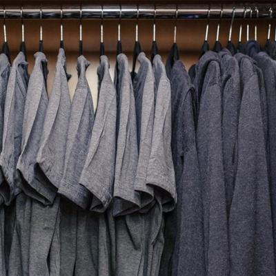 Should I wear the grey shirt today? Or the grey shirt today?