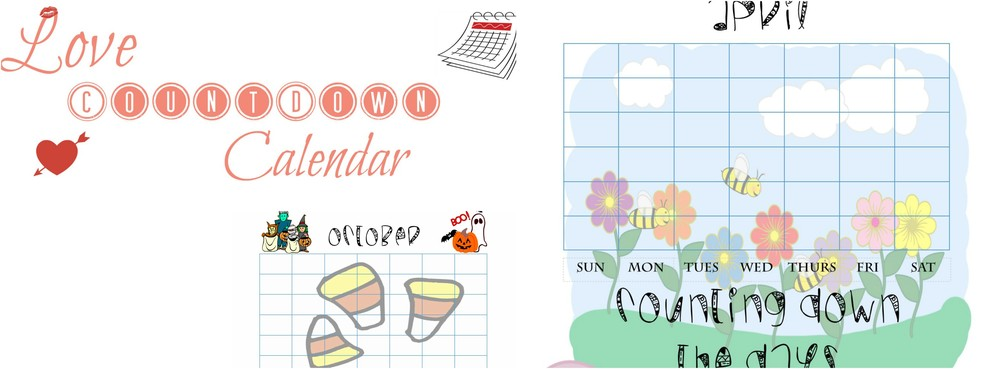 How To: Love Countdown Calendar For Your Ldr (With Free Printable