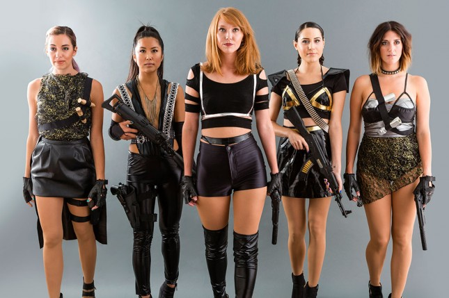 Taylor Swift's Bad Blood Cast  : If you and your crew are total Taylor fanatics, take some time to put together these totally badass outfits from my favourite Swift song and video. (via   Brit + Co  )