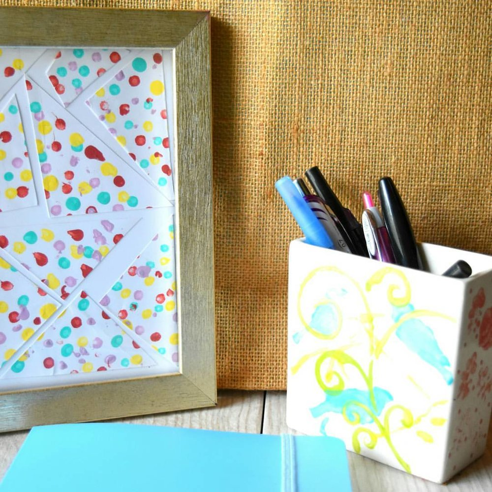DIY Colorful Hand-Dotted Tumblers 1.jpg