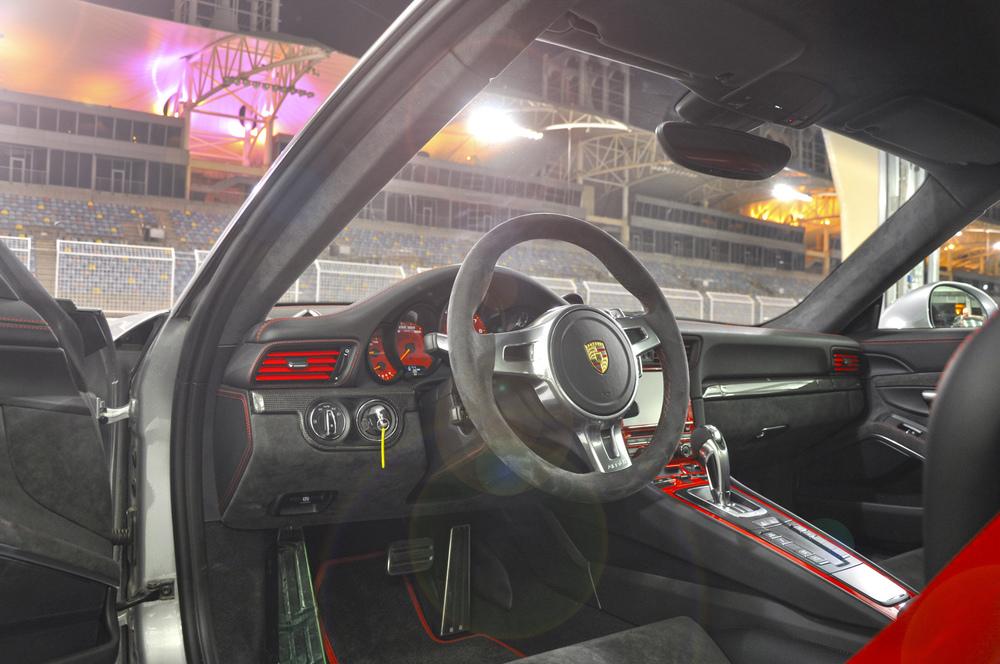 Custom 991 GT3 Interior.