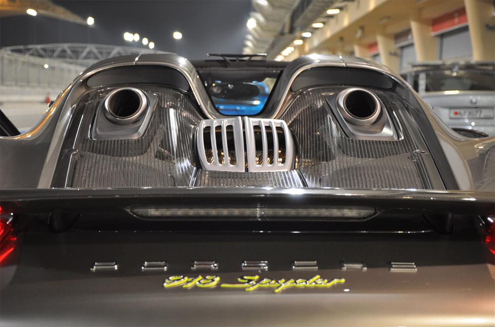 Porsche 918 Close Up