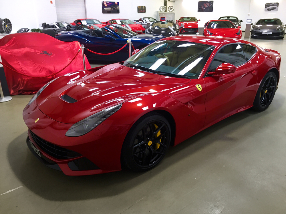 F12 fresh from full body PPF