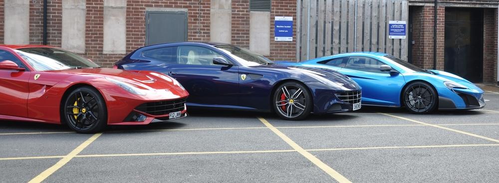 675lt and Ferrari FF