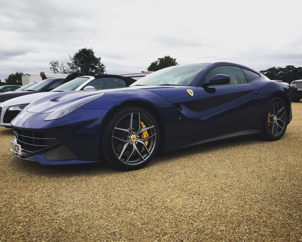 TDF Blue Ferrari F12