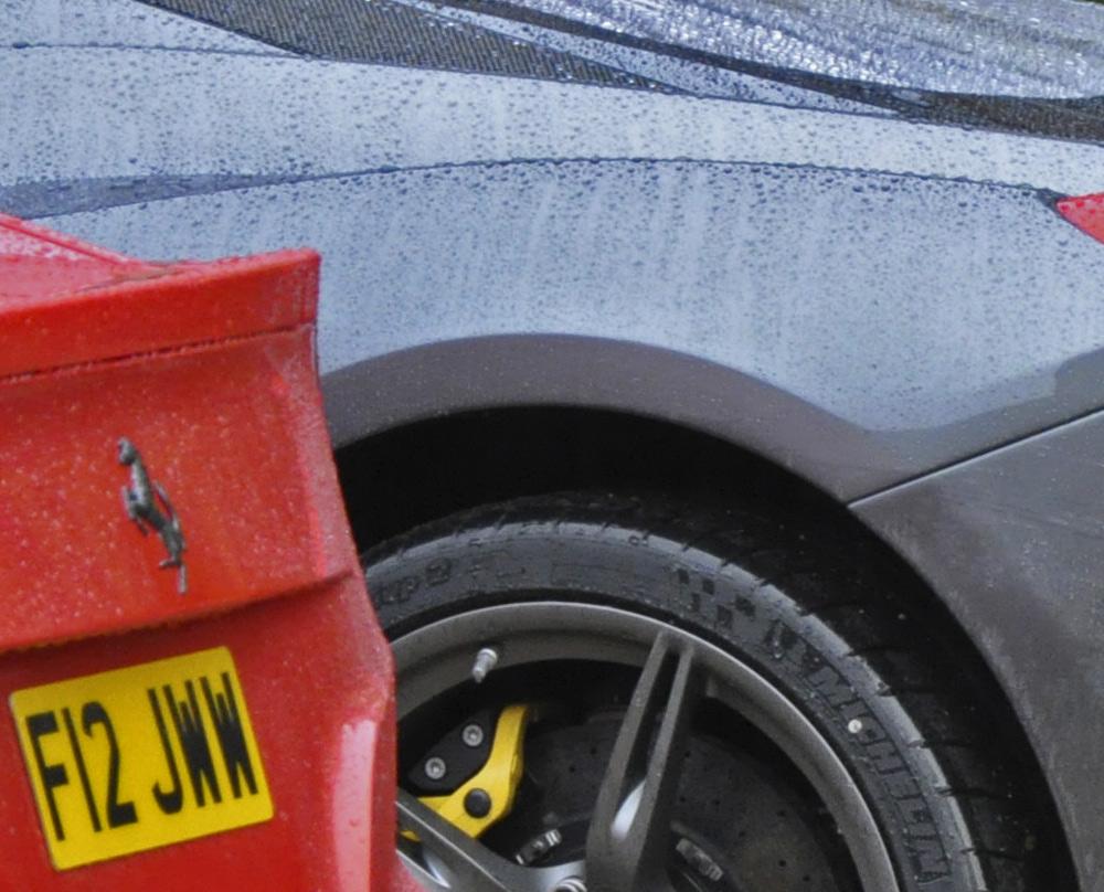 Wet Ferrari's