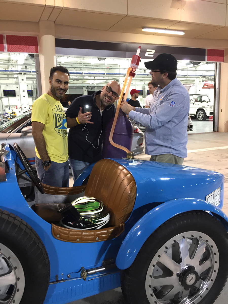 Bahrain bugatti