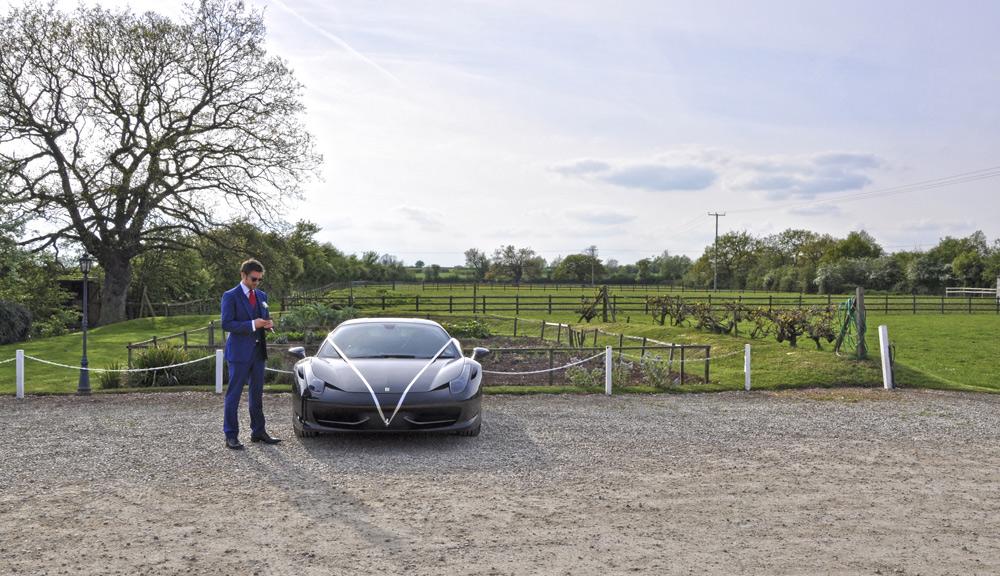 Ferrari Wedding