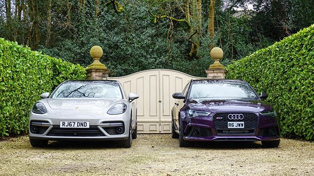 Tomorrow we go head to head! Panamera Turbo Sport Turismo vs Audi RS6 Performance! YouTube.com/MrJWW (10:30am gmt) 😜 #MrJWW #Porsche #Audi #Panamera #RS6 #cargram #fastlife #carporn #instacar #cars #headtohead