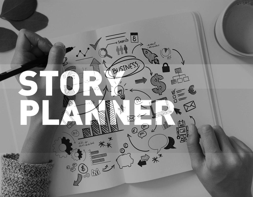 WorkshpStory Planner - Uma boa comunicação dependede uma estrutura de conteúdo eficiente, em linha com o propósito do negócio.A aplicação do Storytelling permite unir conhecimentos de estruturação narrativae escrita afetiva para construir conteúdos mais coesos e textosmais eficazes.