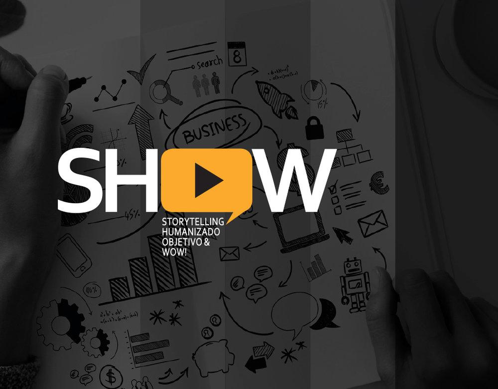 Curso SHOW! - Storytelling. Humanizado,Objetivo & Wow!O curso SHOW oferece ferramentas para conquistar autonomia na elaboração de uma escrita afiada com clareza e objetividade e traz técnicas de storytelling que facilitam a criação de conteúdos impactantes e vendedores.