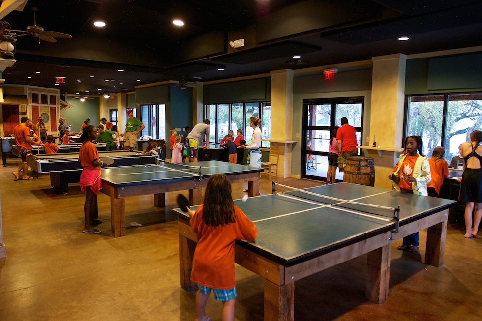 Family Camp Ping Pong