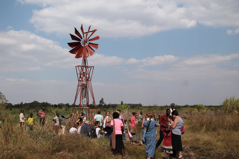 AFRICA WINDMILL PROJECT    The mission of Africa Windmill Project is to establish food security by teaching farm irrigation and sustainable agriculture practices in Malawi.