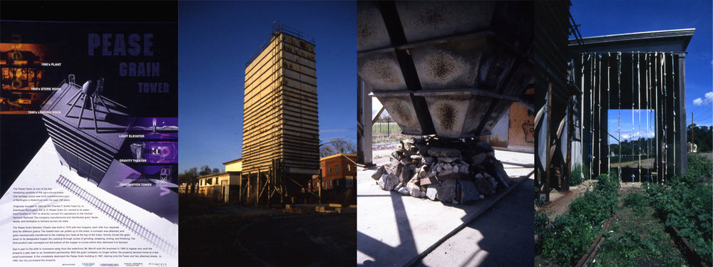 Pease Grain Tower