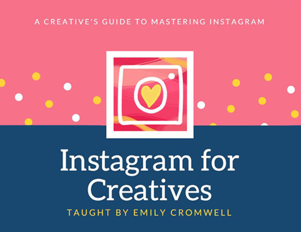 INSTAGRAM FOR CREATIVES - In this class I'll be teaching you how to master Instagram as a creative! In this class, you will learn how to craft a profile for your Instagram that is true to you and lets your viewers know just who you are, how to craft a consistent feed that speaks true to your brand and vision, how to edit your photos for a beautiful Instagram feed, the art of engagement, how and what hashtags you should be using (and how to add them to your posts in a way that it won't look all jumbled together), and lastly, how to schedule and make a plan for your Instagram posts. By the end of this class, you will feel much more confident when it comes to Instagram!