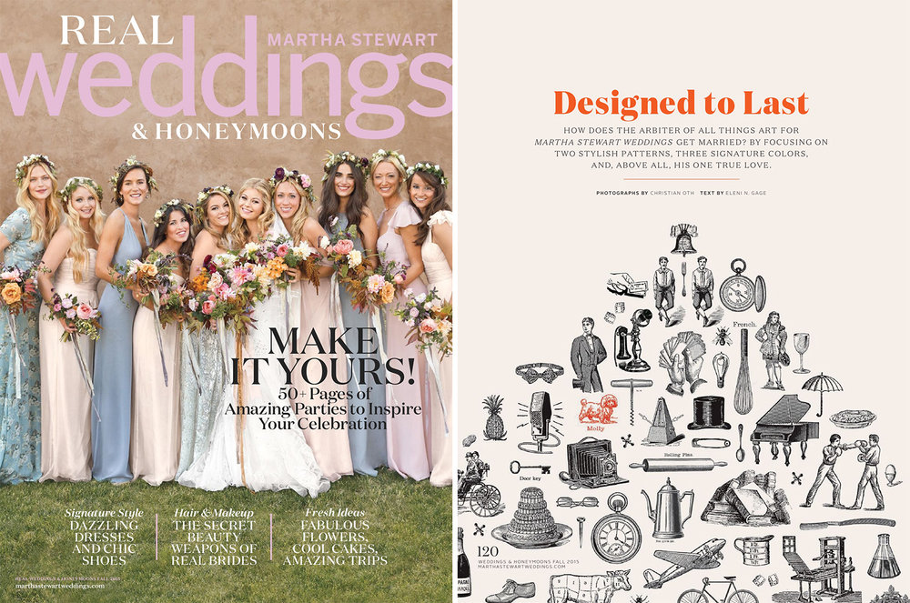 Martha Stewart Weddings Real Weddings Fall 2015