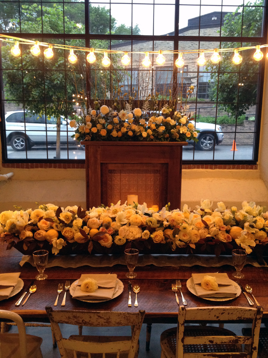 Sullivan-Owen-Philadelphia-Wedding-Florist-Yellow-Dinner-Party-1