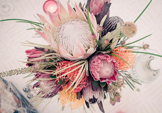 Gianna-100-Layer-Cake-Protea-Centerpiece-Sullivan-Owen-Floral-Design