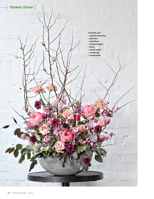 Sullivan-Owen-FlowerMagazine-April-2015-Spring-Feature-Philadelphia-Wedding-Florist-Pink-Mauve-Branches-Peony