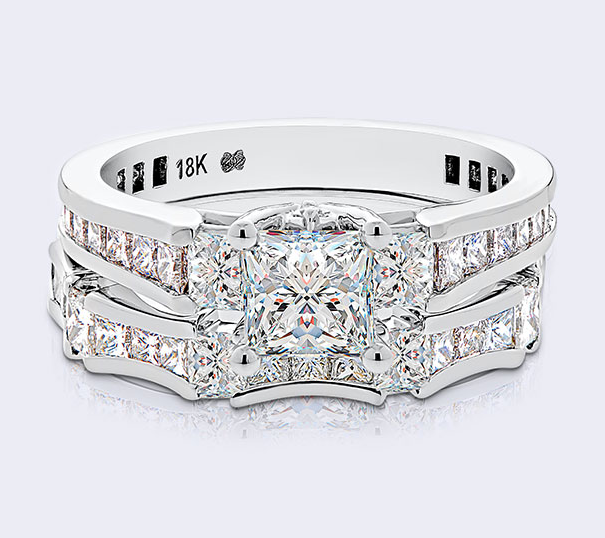 LUXURY BRIDAL SETS - Every diamond we use is the world's rarest