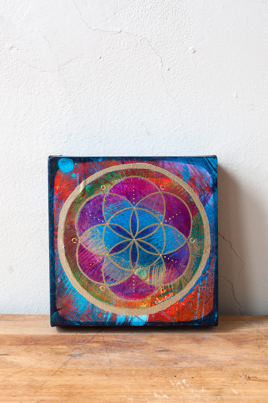 """Seed of Life 33"" 6"" x 6"""