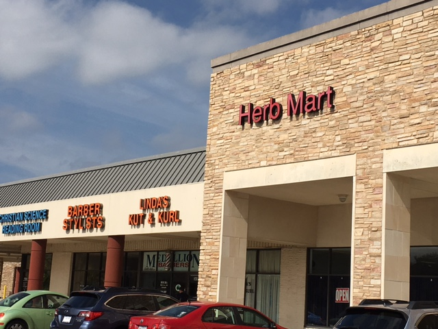 Herbmart in Dallas, in the back of the Medallion Shopping Center on Northwest Highway between Skillman & Abrams.
