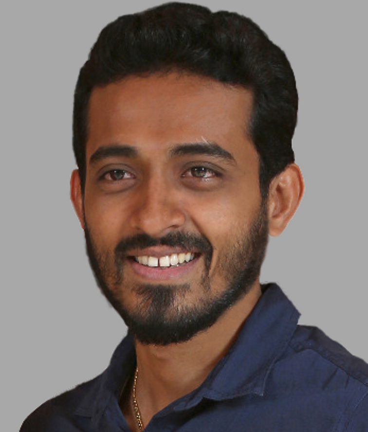 Viveka Shetty /    Developer   Relationship manager at Lean Station, with over 10 years of experience in entertainment, marketing and project management. He is a knowledge seeker and keen observer. Exploration, advancement and achievement are his dictums.