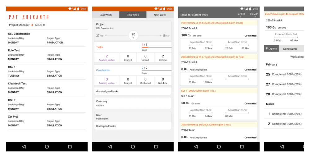 Lean PlanDo Site - Mobile App