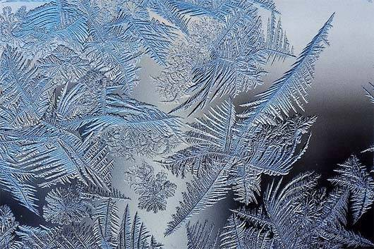 Ice crystals are fractals — most beautiful and delicate