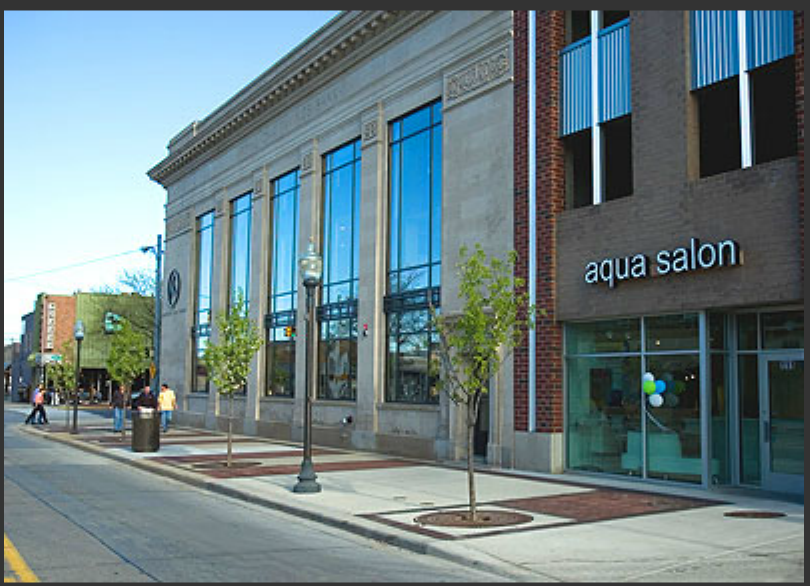 Aqua salon for 6 salon in royal oak