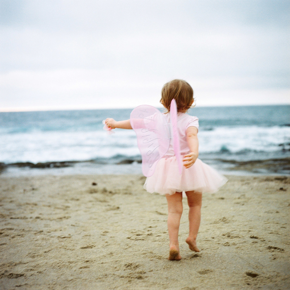 Anna with Wings | San Diego Family Photography