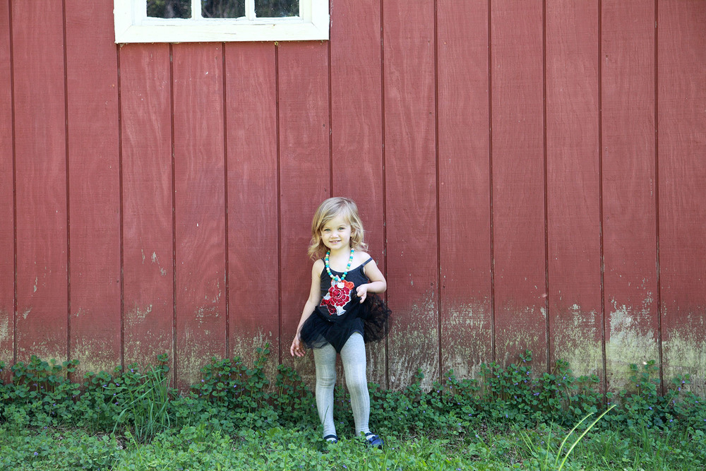 Red Barn | San Diego Children Photography