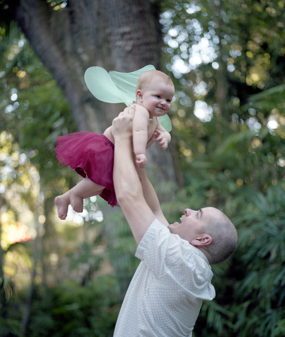 Daddy Wings | San Diego Baby Photography