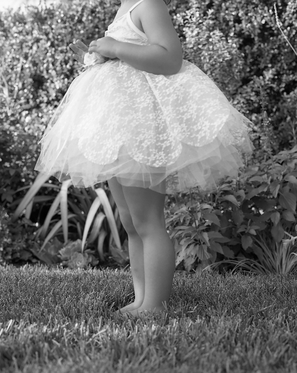 Fluffy Tutu | San Diego Children Photography
