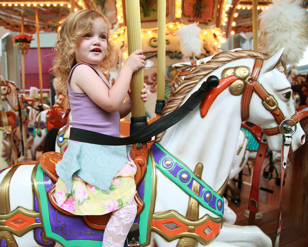 Merry-Go-Round | San Diego Family Photography