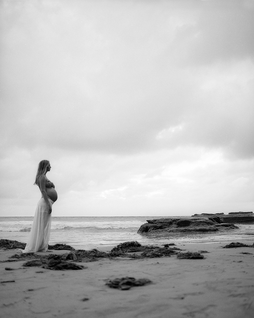 My Promise | San Diego Maternity Beach Photography