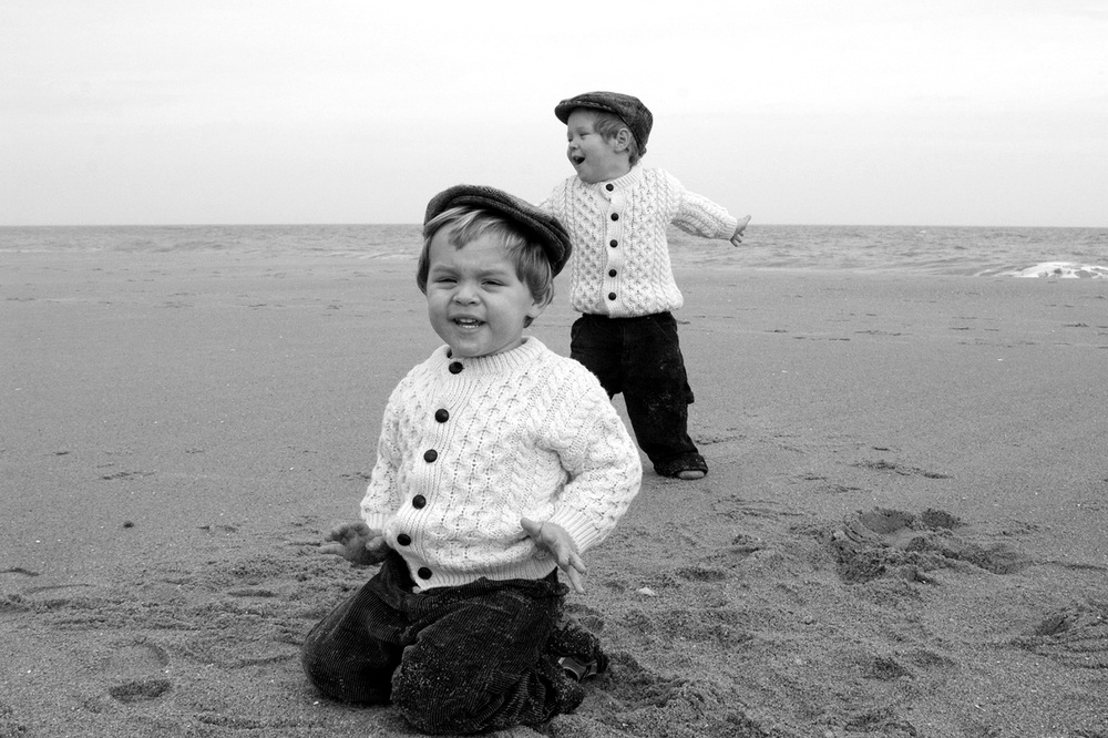 Keegan and Nolan | Family Beach Portraits