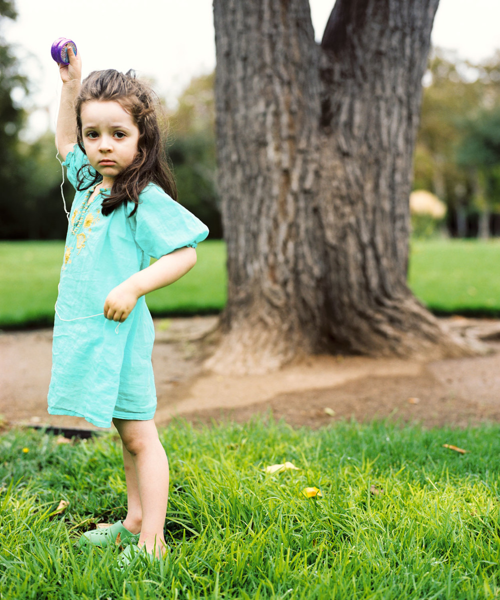 Jozy and her Yoyo | San Diego Family Photography