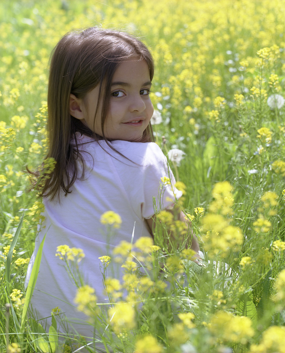 Field of Flowers | San Diego Children Photography