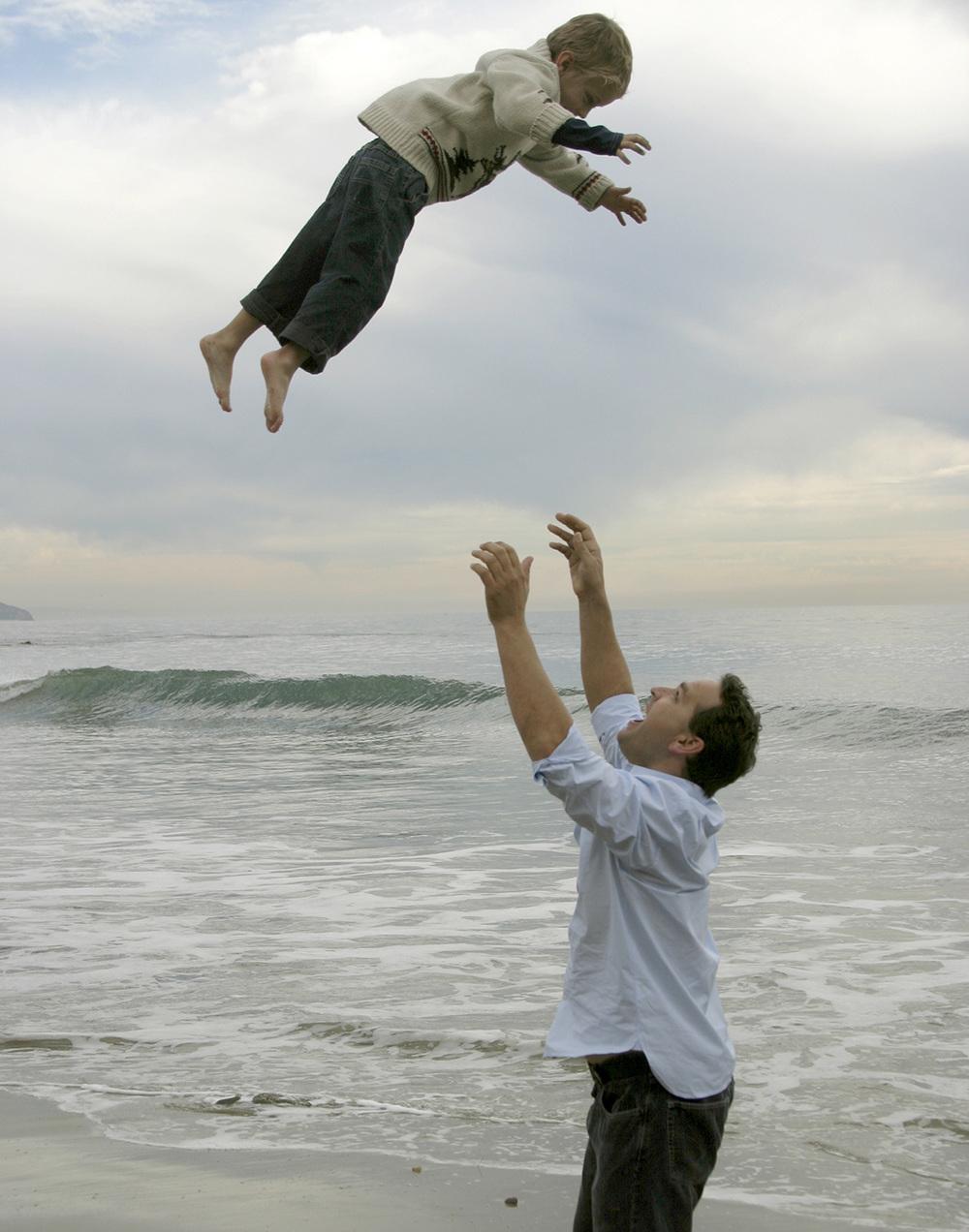 Up High | San Diego Beach Photography