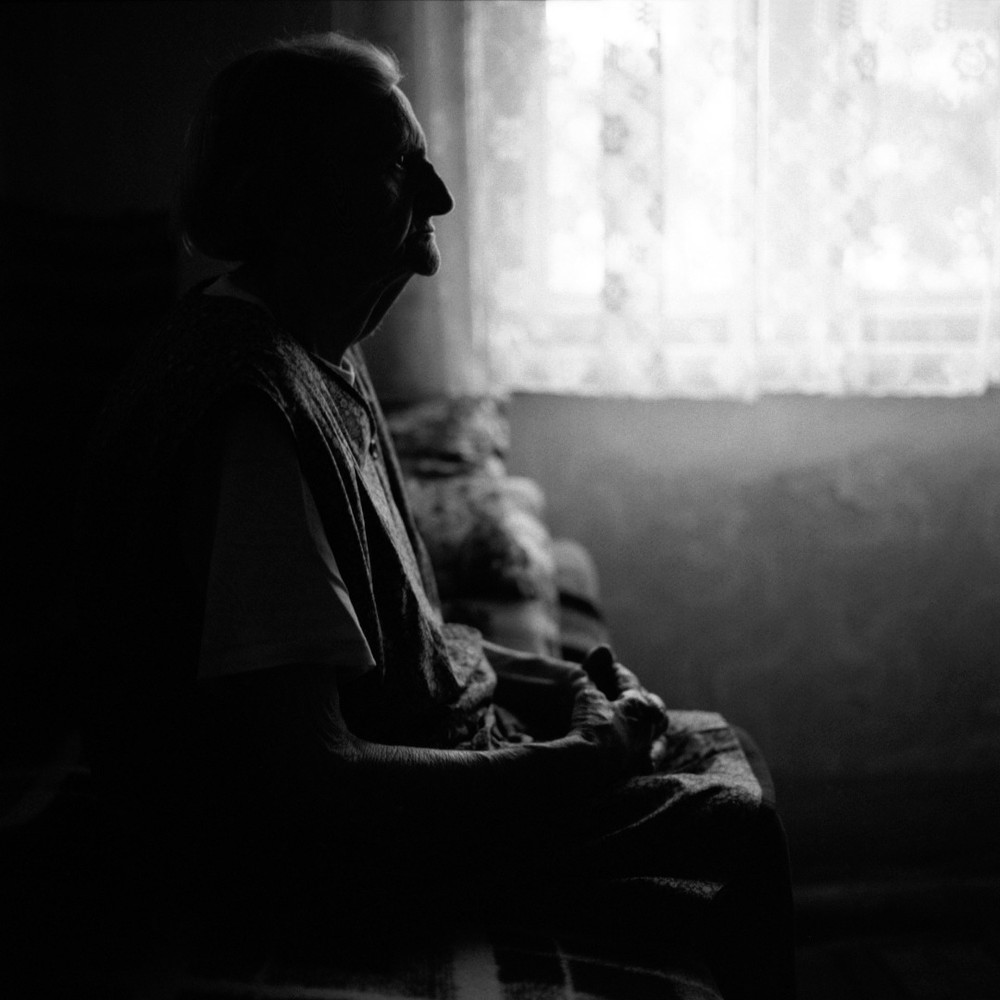 Alone, Portrait Photography of Older Woman