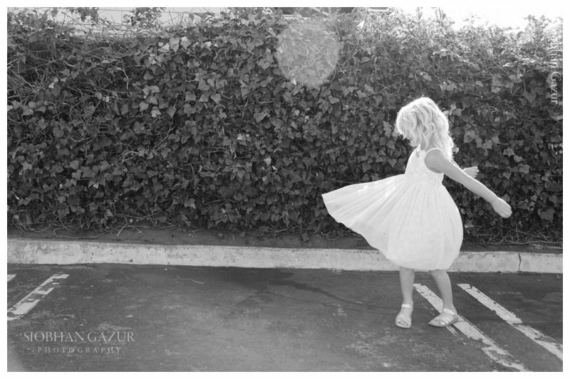 San Diego Family Photography | Girl Dancing In The Street