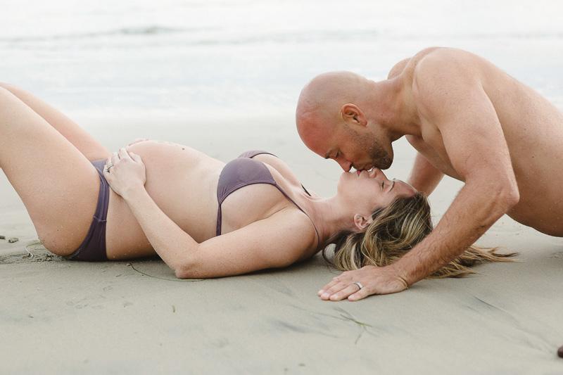 Beach Pregnancy Photos of Love San Diego Photography
