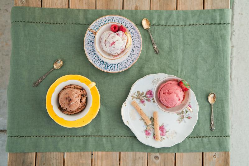 Food Photography Healthy Ice Cream | Gelato